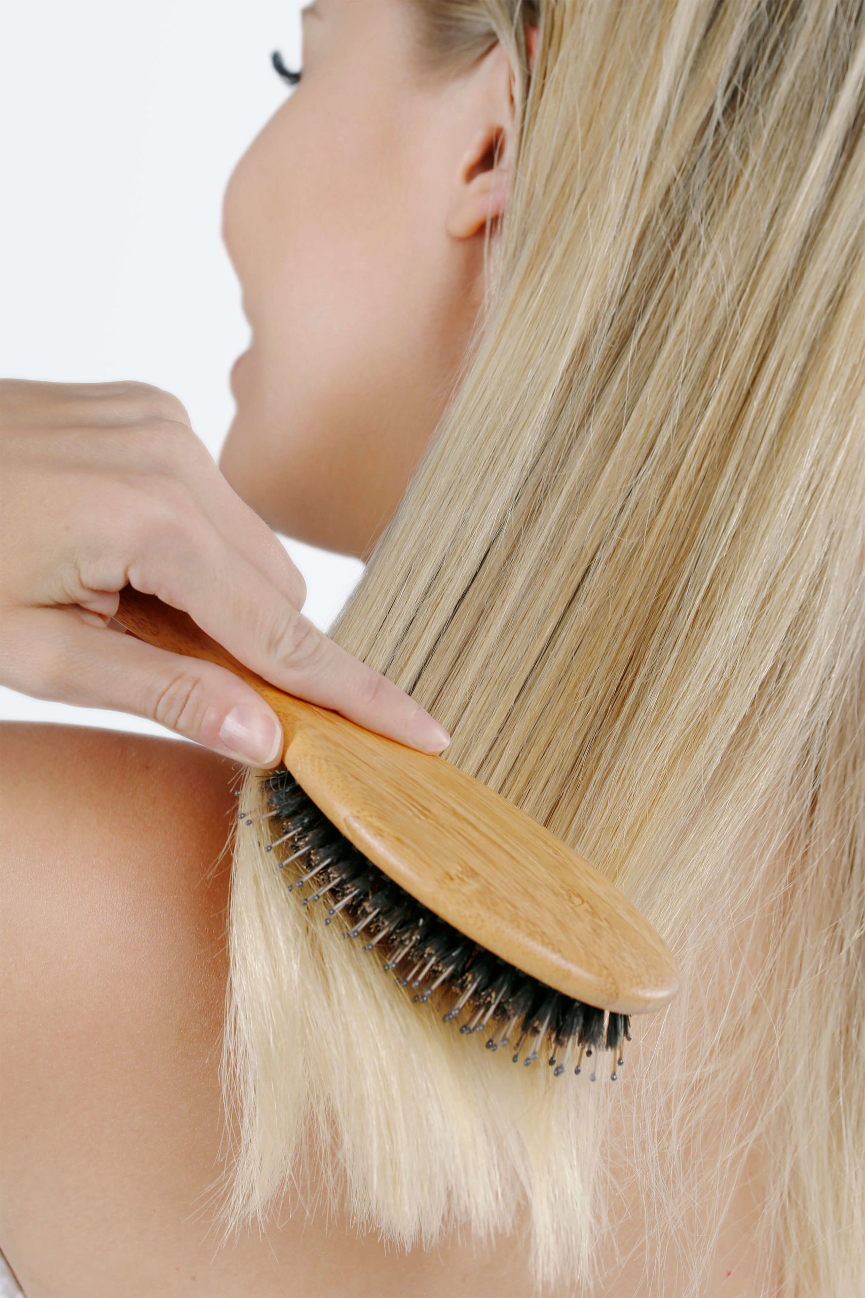 Introducing the perfect combination in a hairbrush