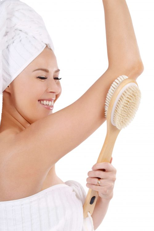 shower brush for women